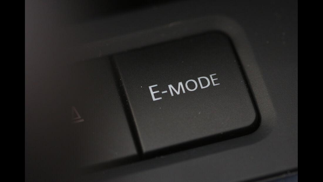 VW Jetta Hybrid, Bedienelement, E-Modus
