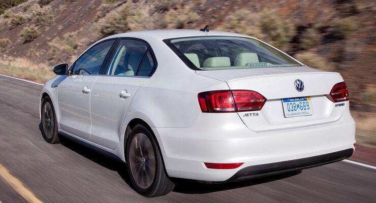 VW Jetta Hybrid Bonneville Speed Weltrekord