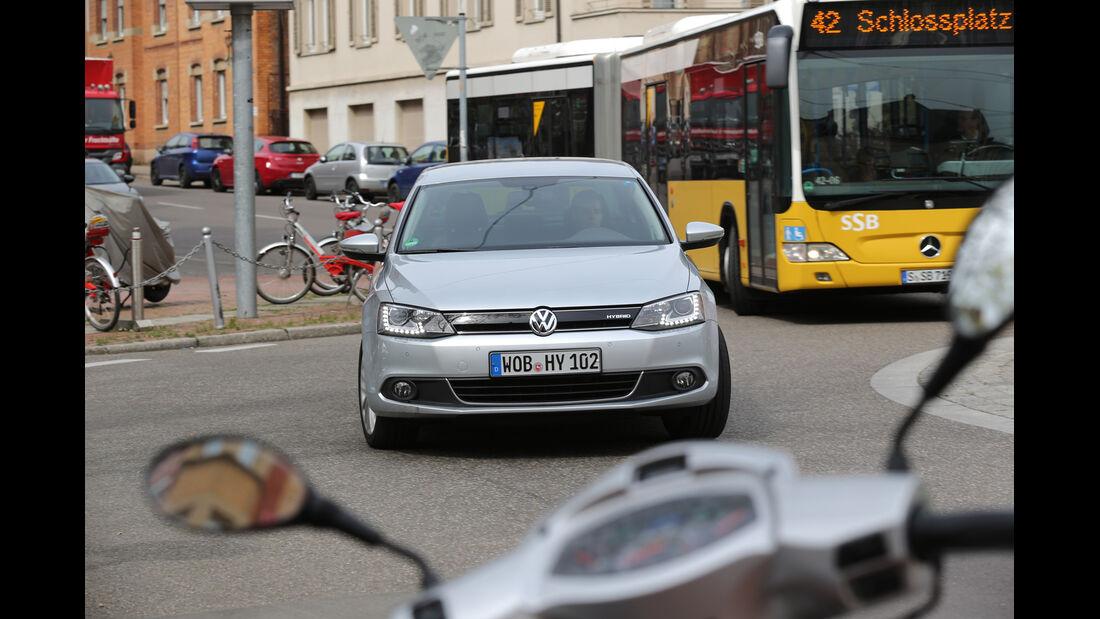 VW Jetta Hybrid, Frontansicht