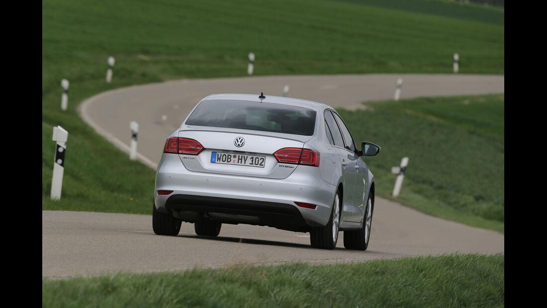 VW Jetta Hybrid, Heckansicht