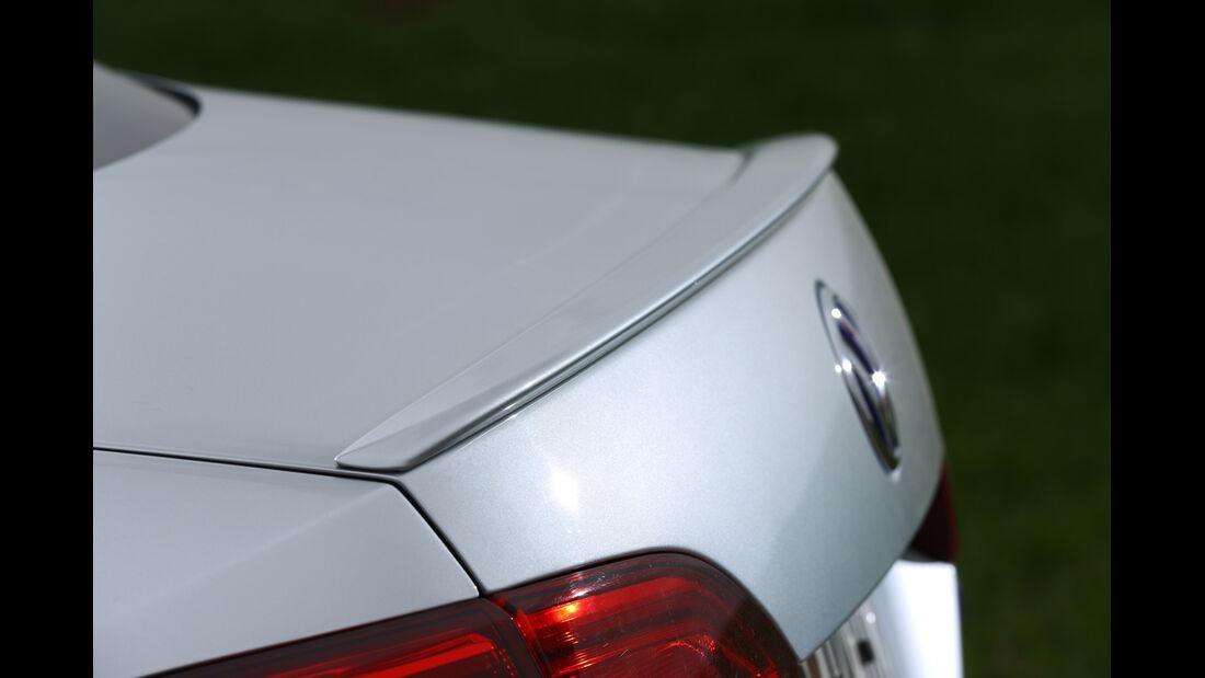 VW Jetta Hybrid, Heckspoiler, Heckschürze