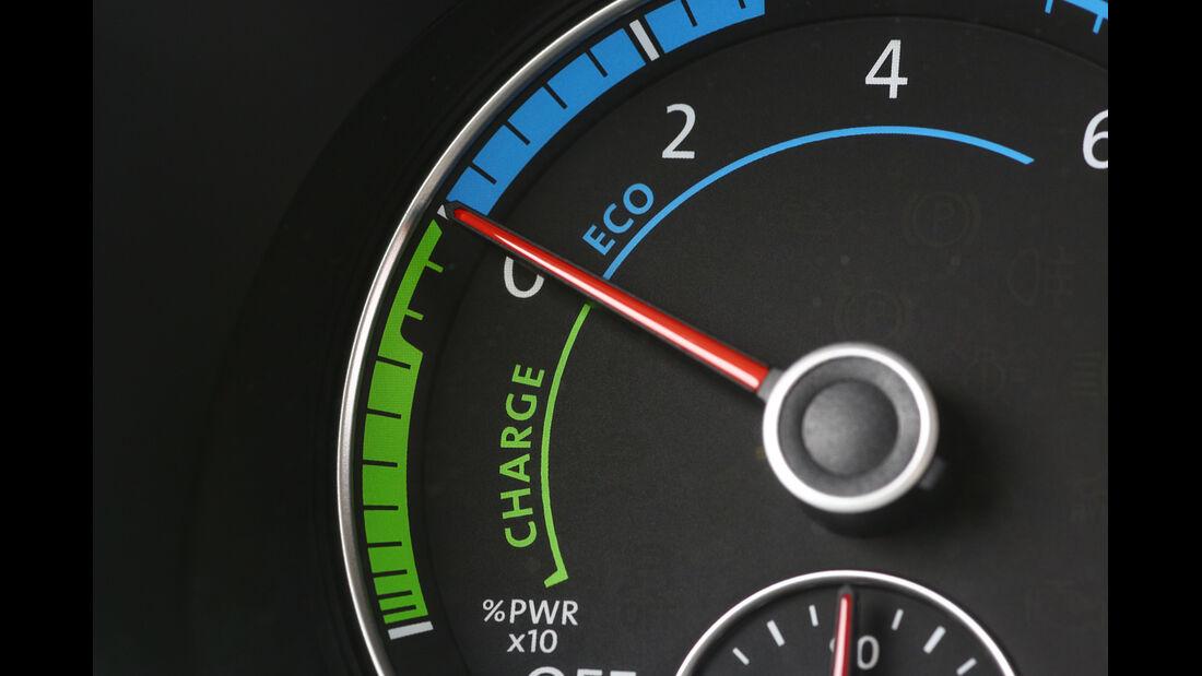 VW Jetta Hybrid, Rundinstrument