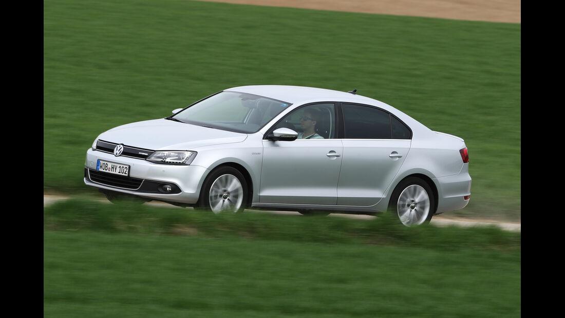 VW Jetta Hybrid, Seitenansicht
