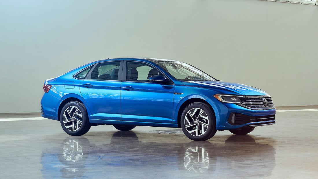 VW Jetta Modellpflege 2022 USA