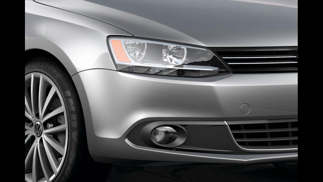 VW Jetta, Scheinwerfer