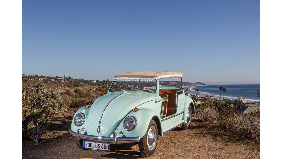 VW Jolly, Frontansicht