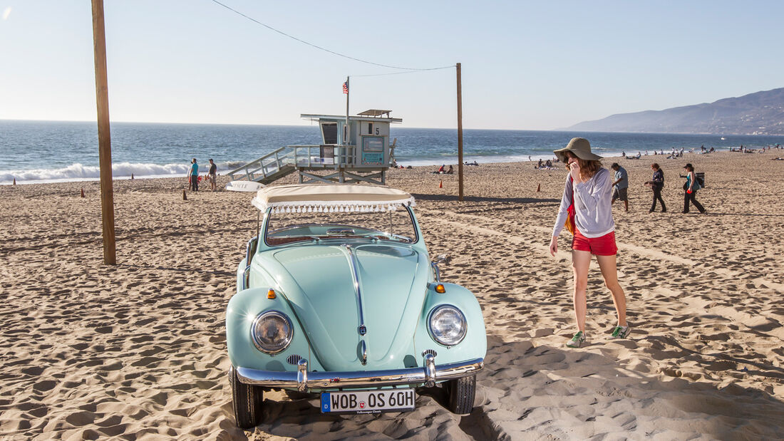 VW Jolly, Frontansicht, Strand