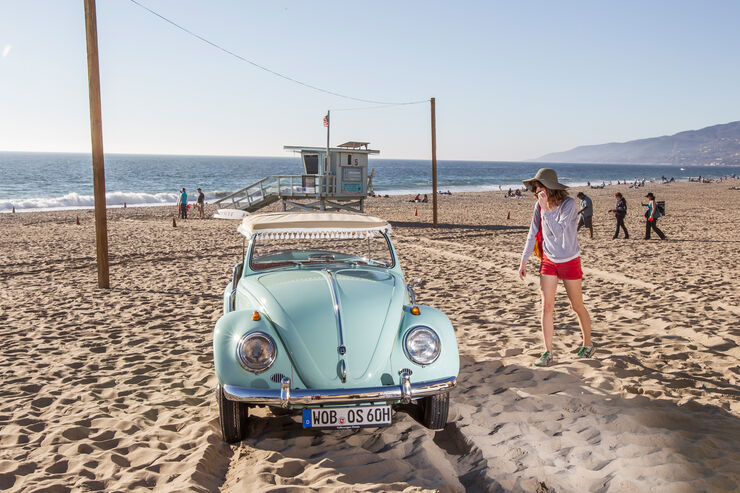 VW Jolly, Frontansicht, Strand