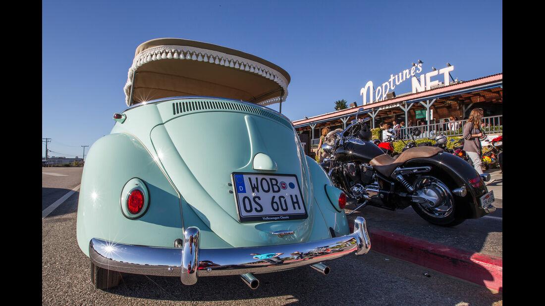 VW Jolly, Heckansicht