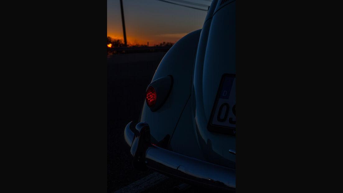 VW Jolly, Heckleuchte