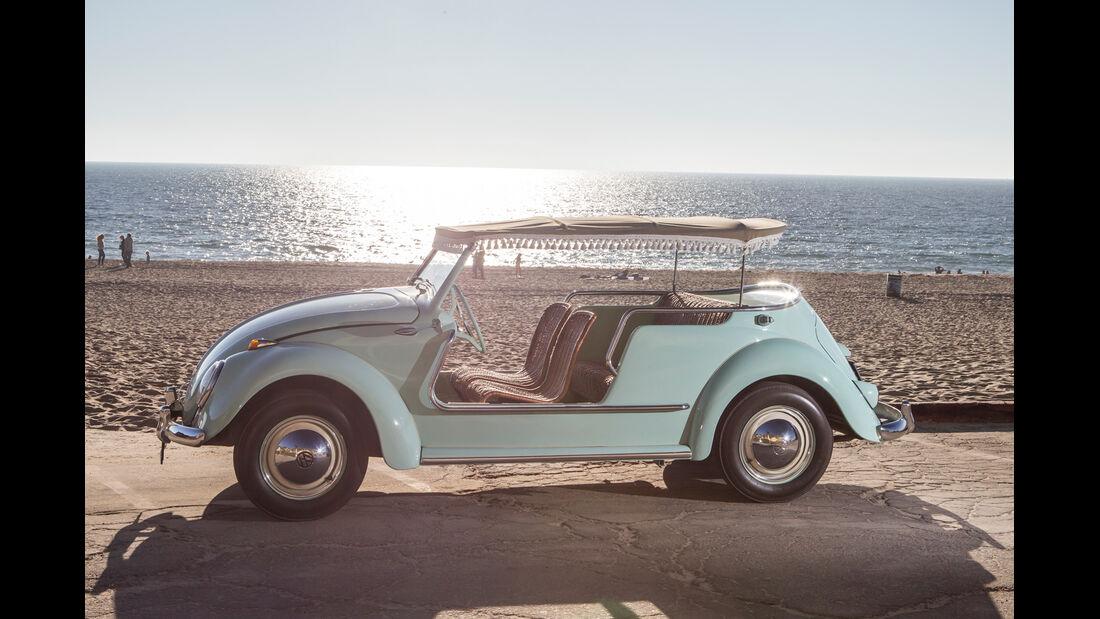 VW Jolly, Seitenansicht