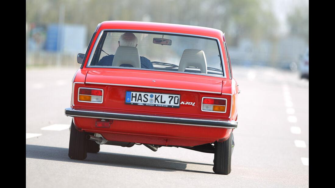 VW K 70 L, Heckansicht