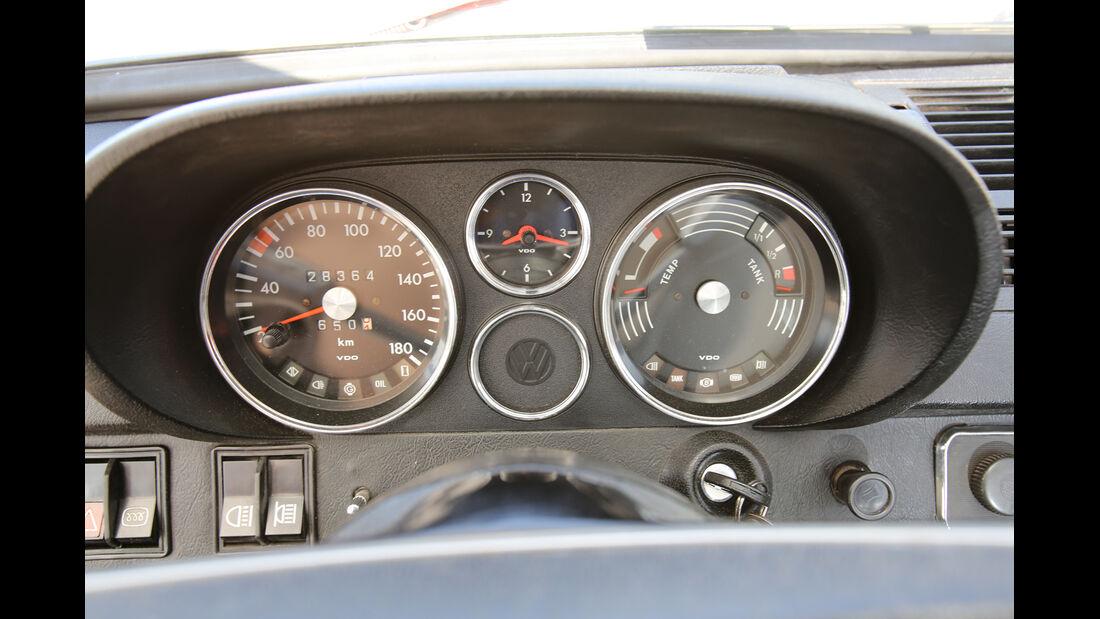 VW K 70 L, Rundinstrumente