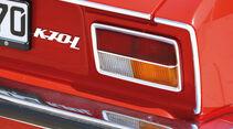 VW K 70, Typenbezeichnung, Heckleuchte