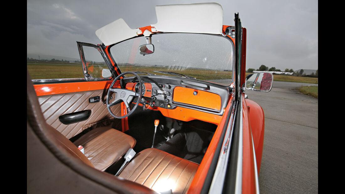 VW Käfer 1302 LS Cabriolet, Cockpit