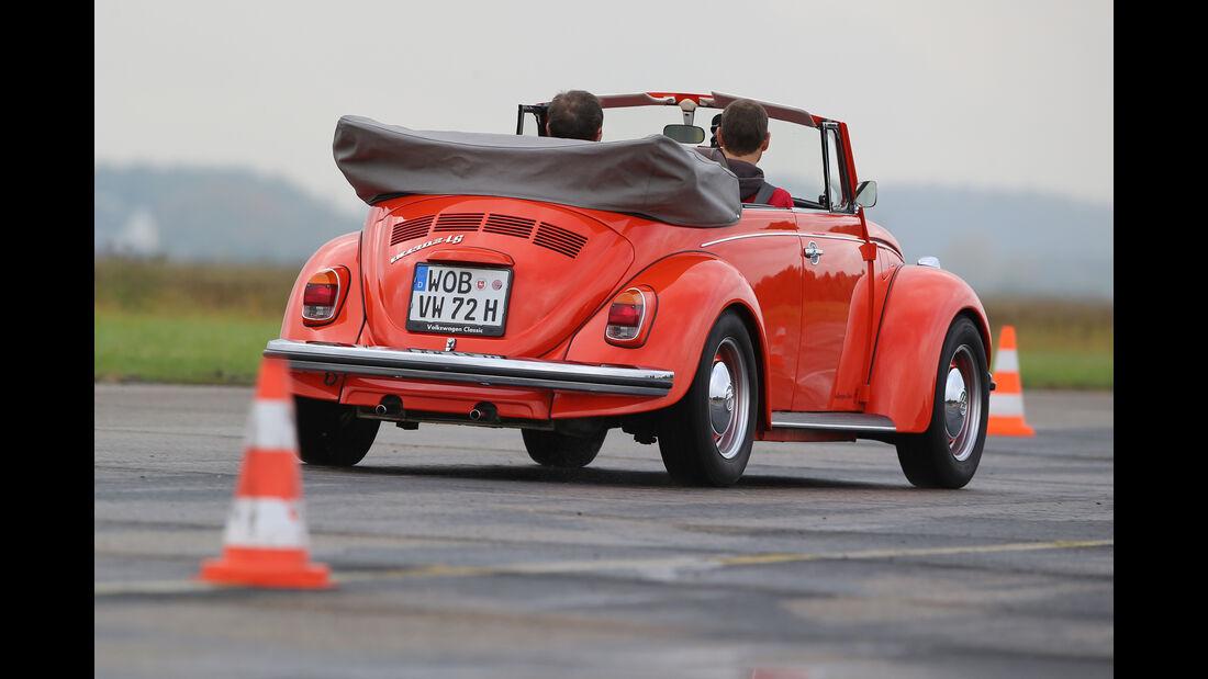 VW Käfer 1302 LS Cabriolet, Heckansicht
