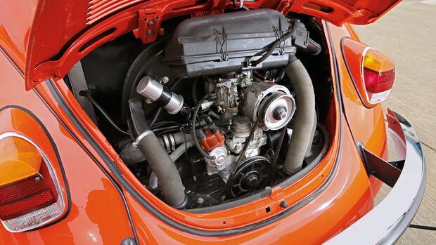 VW Käfer 1302 LS Cabriolet, Motor