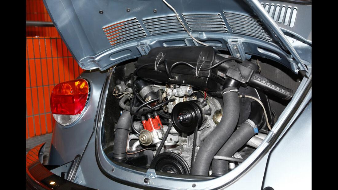 VW Käfer 1303 Automatic, Baujahr 1973 Motor