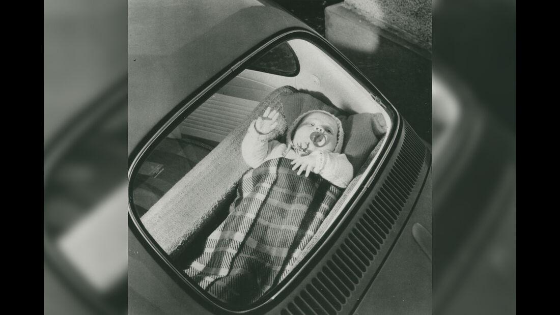 VW Käfer Baby Wiege Heckablage