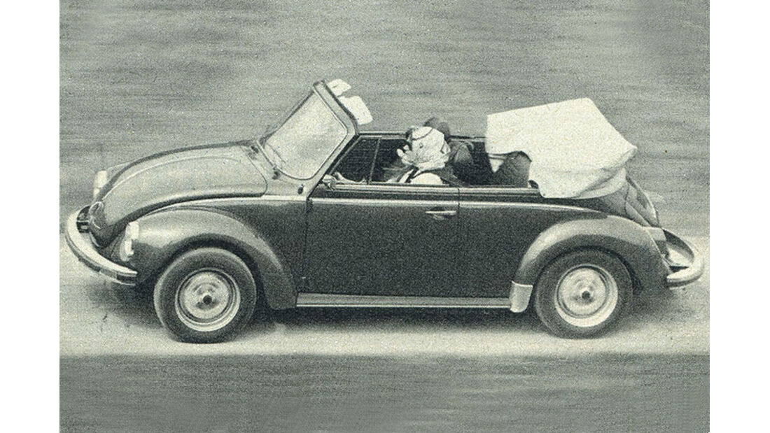 VW, Käfer Cabrio, IAA 1977