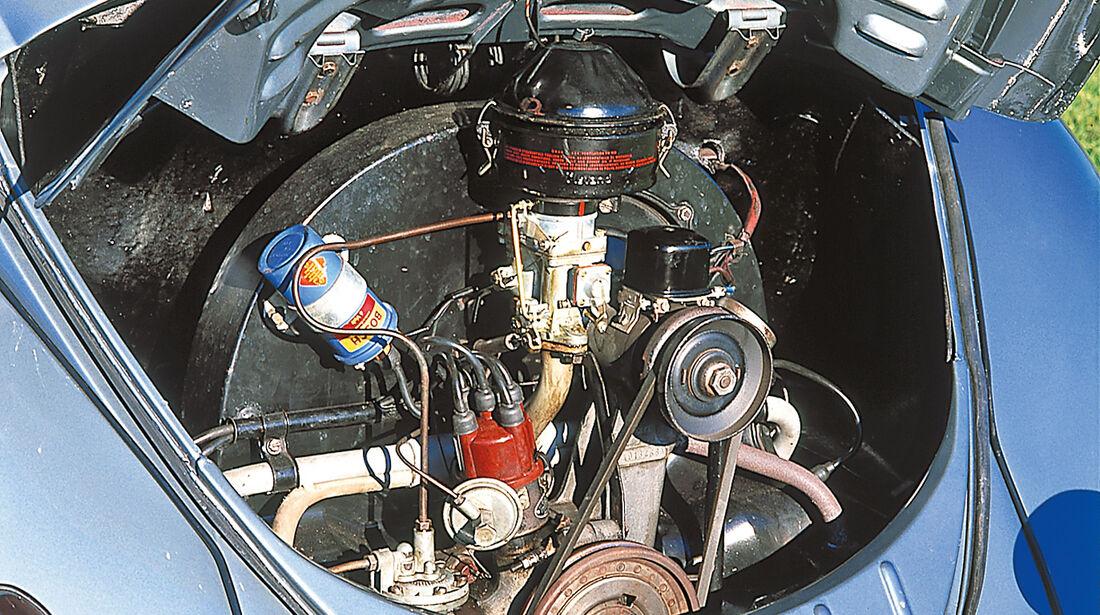 VW Käfer Cabriolet, Motor