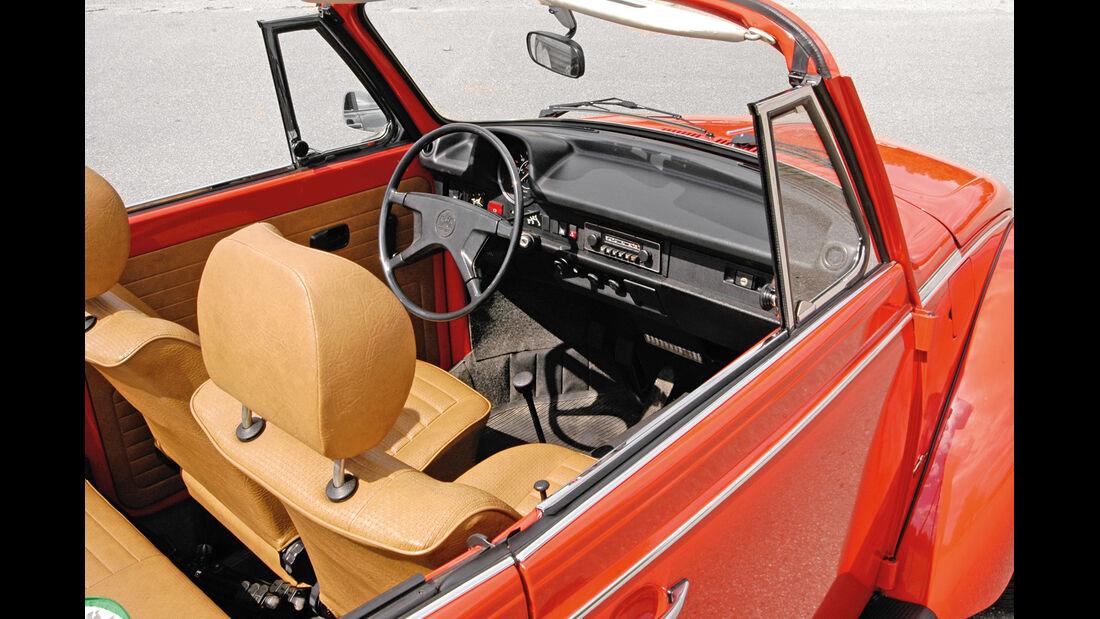 VW Käfer, Cockpit