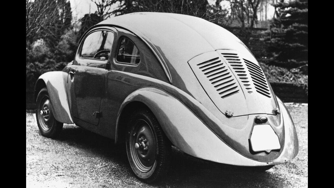 VW Käfer Erprobung