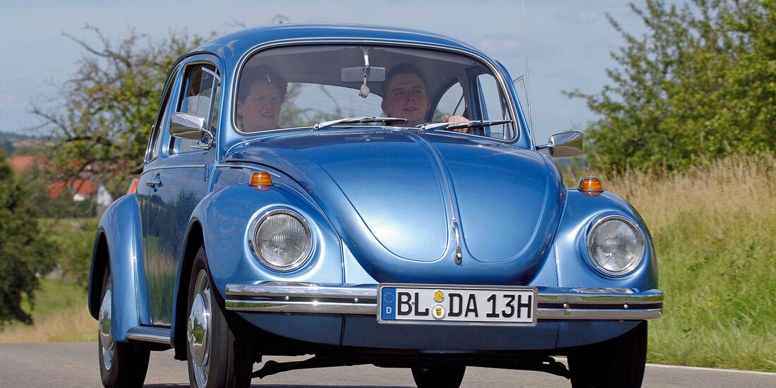 VW Käfer , Frontansicht