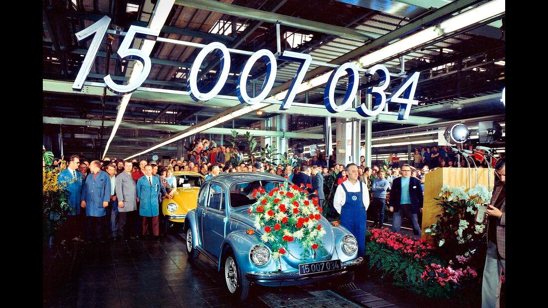 VW Käfer Jubiläum