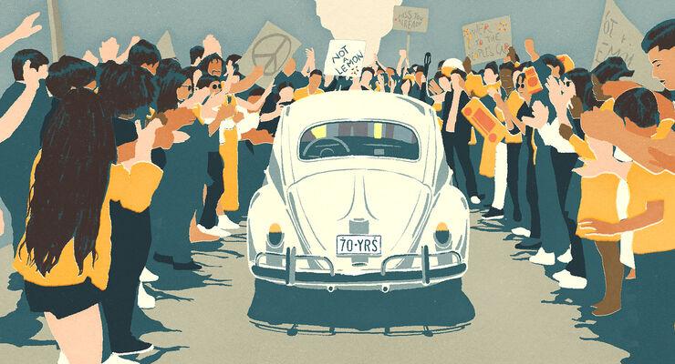 VW Käfer Last Mile Video