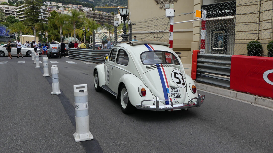VW Käfer - Luxusautos - Formel 1 - GP Monaco - 21. Mai 2021
