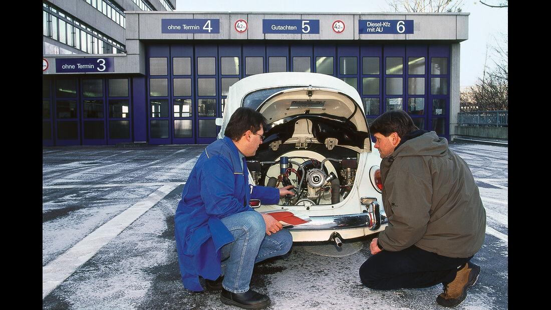 VW Käfer, Motor