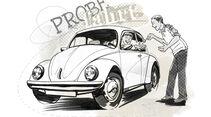 VW Käfer, Probefahrt