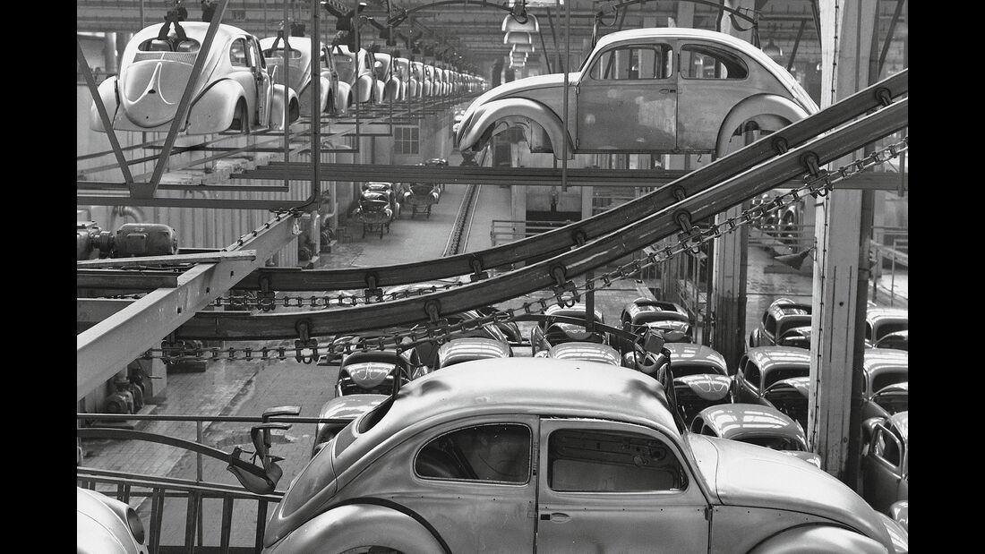 VW Käfer Produktion