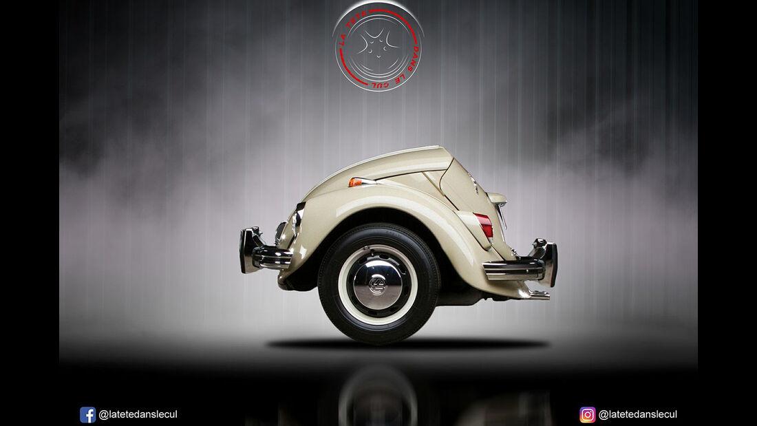 VW Käfer Retusche