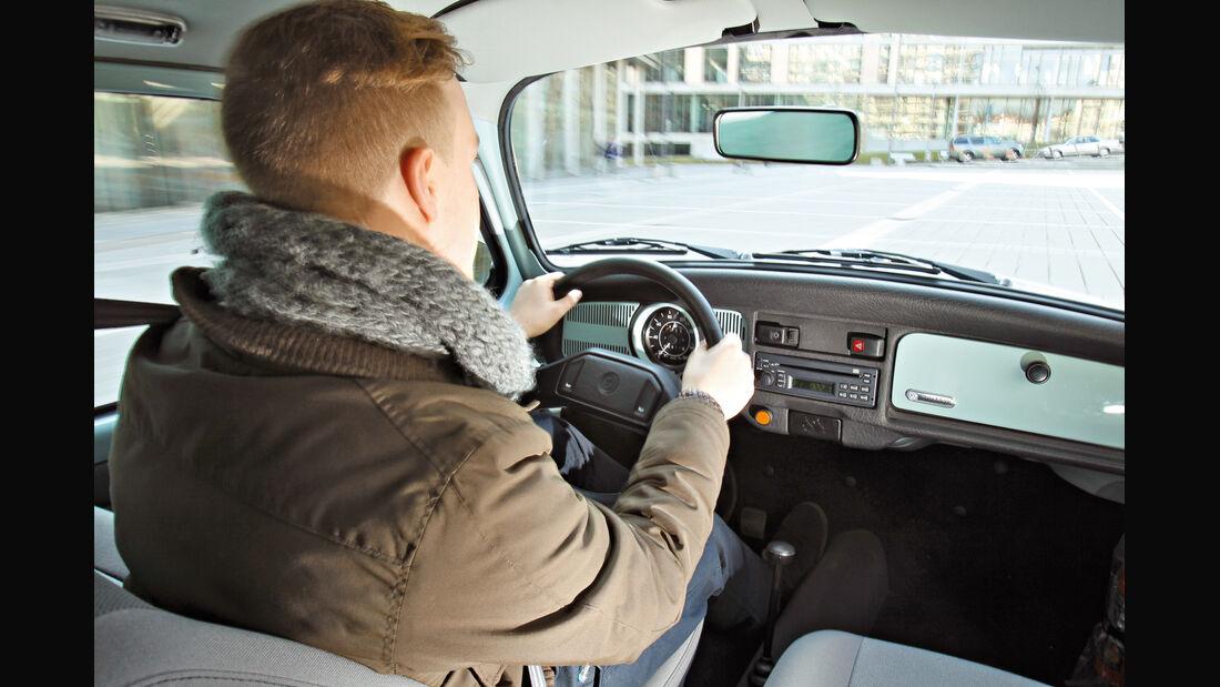 VW Käfer Ultima Edicion, Cockpit