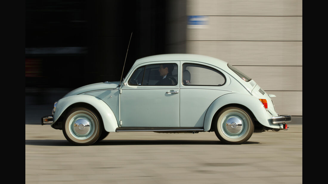 VW Käfer Ultima Edicion, Seitenansicht