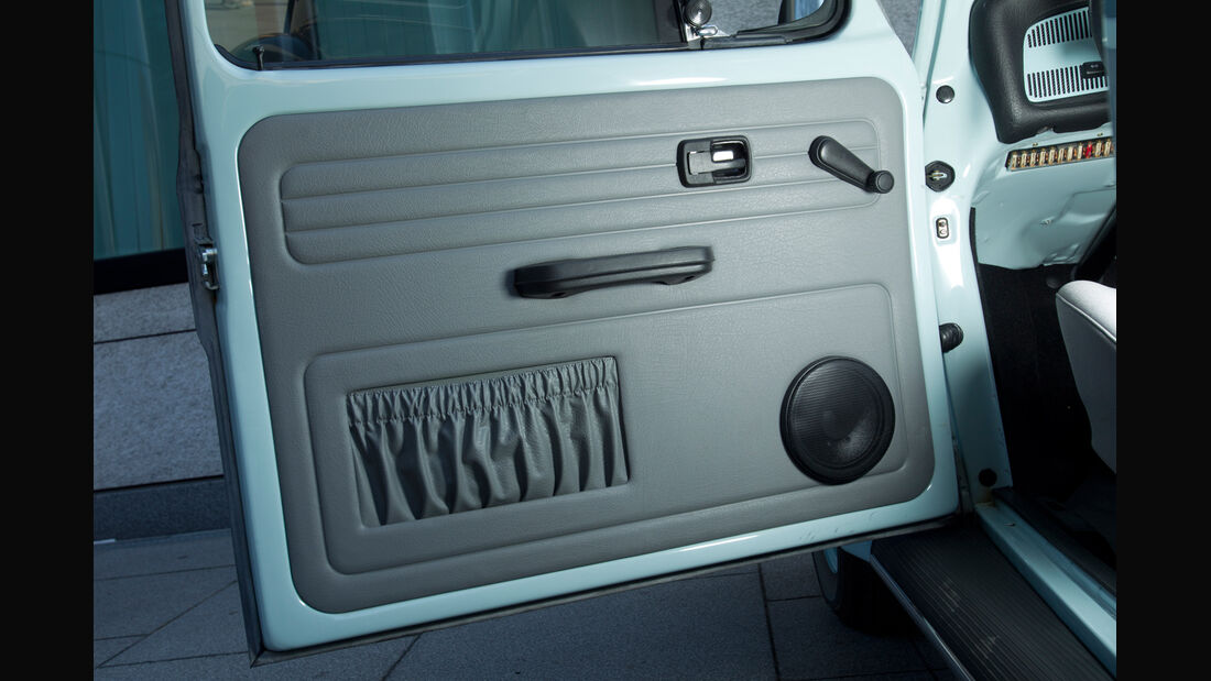 VW Käfer Ultima Edicion, Seitentür, Innenseite