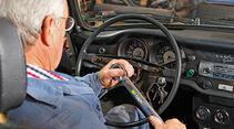 VW Karmann-Ghia Cabriolet, Lenkrad, Horst Reckert