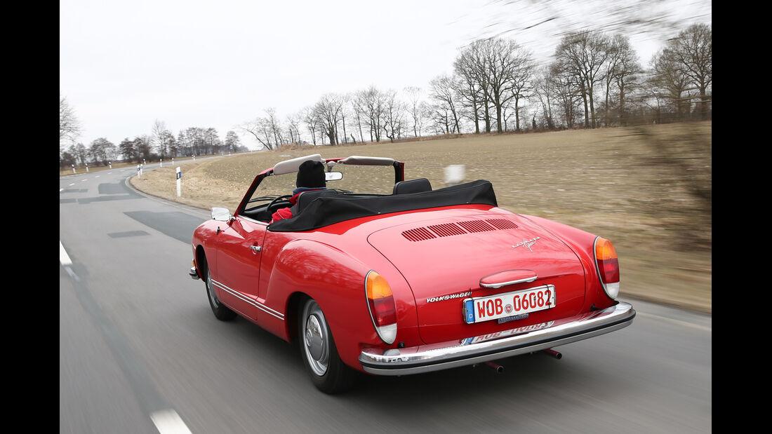 VW Karmann Ghia, Heckansicht