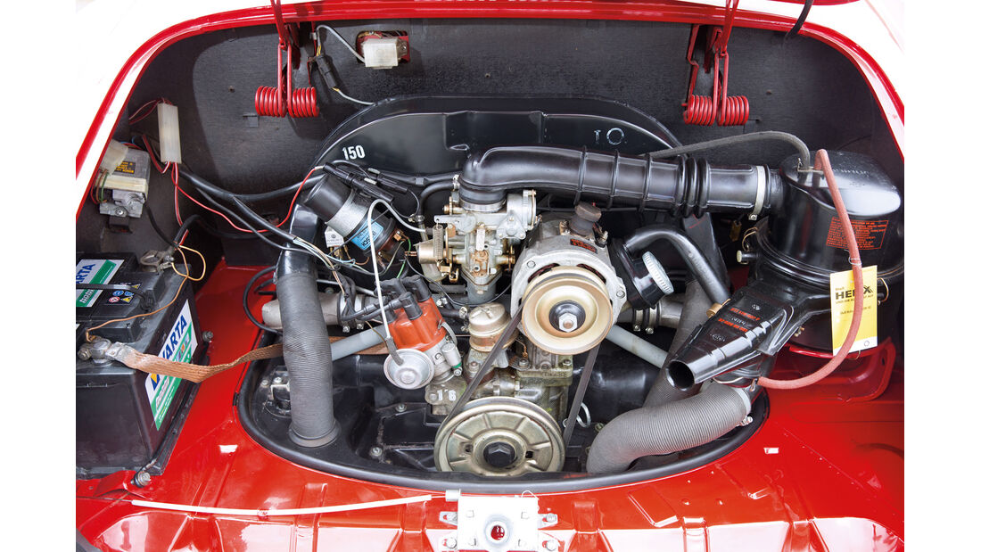 VW Karmann Ghia, Motor