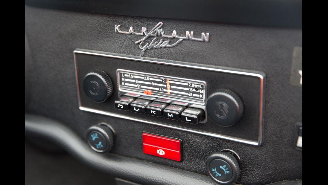 VW Karmann Ghia, Radio