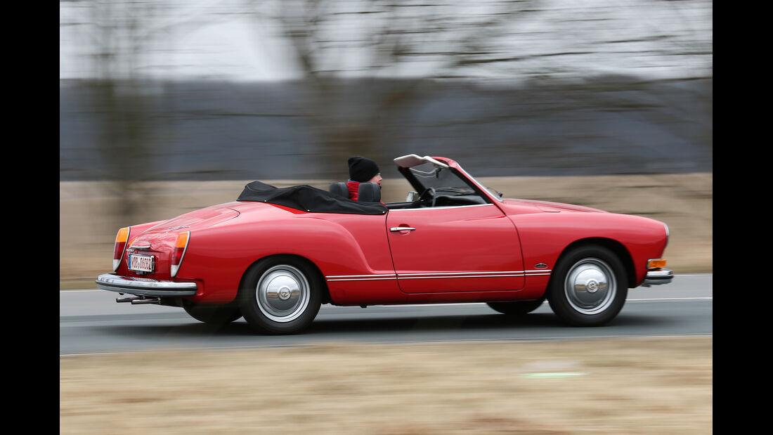 VW Karmann Ghia, Seitenansicht