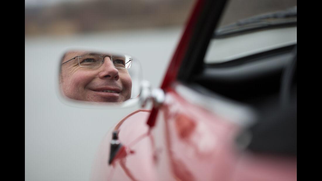VW Karmann Ghia, Seitenspiegel