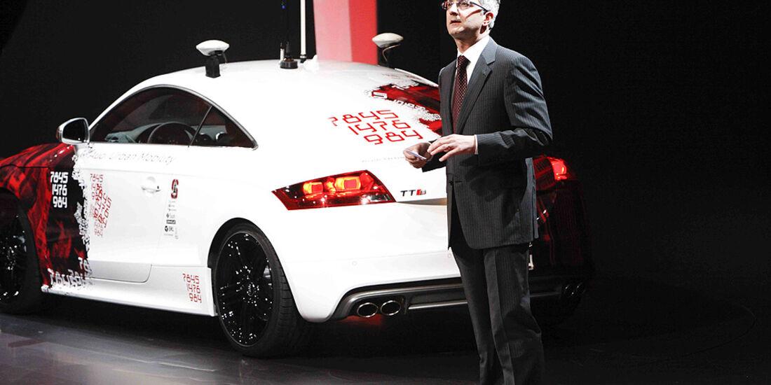 VW-Konzernabend, Genfer Autosalon 2011, Audi TT, Rupert Stadler