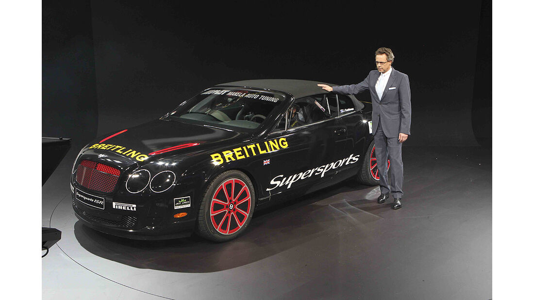 VW-Konzernabend, Genfer Autosalon 2011, Bentley Continental Supersports ISR Convertible