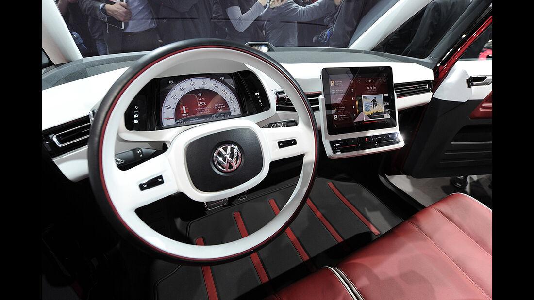 VW-Konzernabend, Genfer Autosalon 2011, Innenraum, Cockpit
