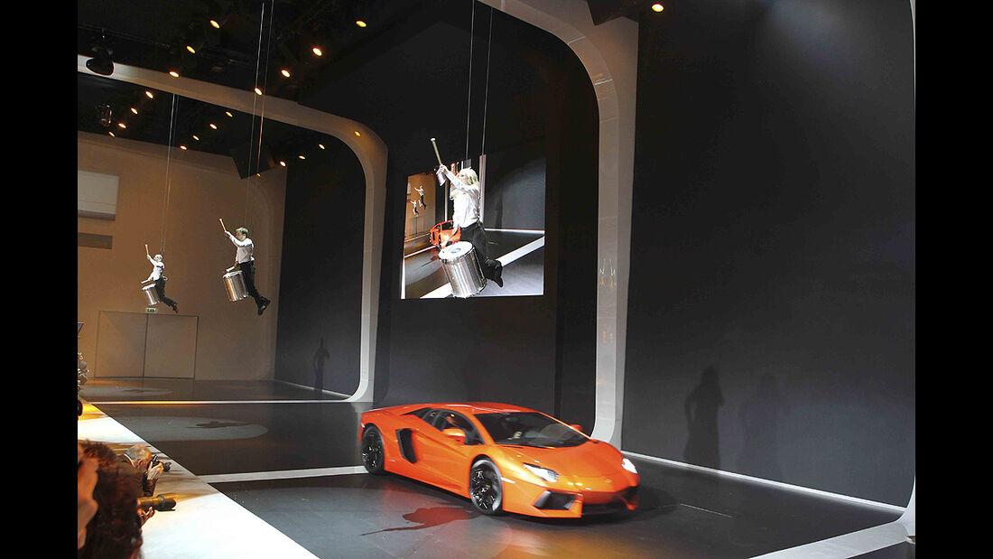 VW-Konzernabend, Genfer Autosalon 2011, Lamborghini Aventador LP 700-4