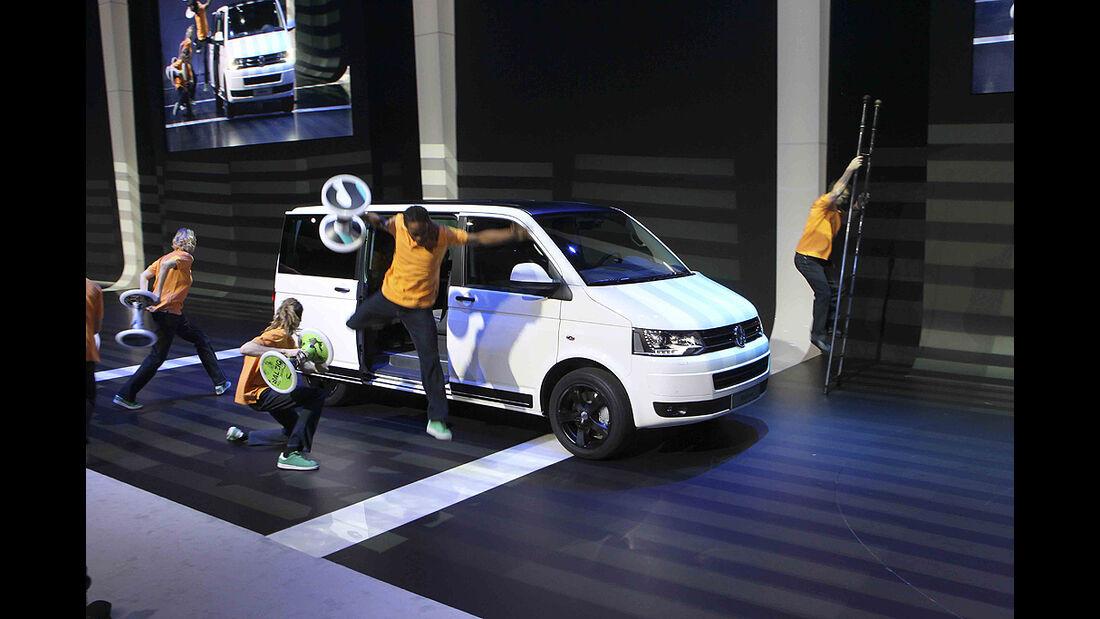 VW-Konzernabend, Genfer Autosalon 2011, VW Multivan T5