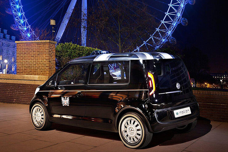 london taxi concept mit vw up auto motor und sport. Black Bedroom Furniture Sets. Home Design Ideas
